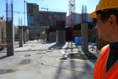 obsledovanie fundamenta v Abu-Dabi Plaza