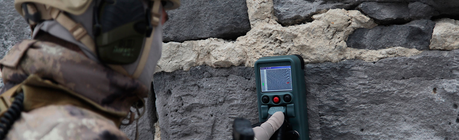 THROUGH WALL GPR DETECTOR RO-900
